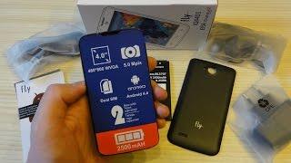 Fly Era Energy 2 IQ4401 Обзор смартфона