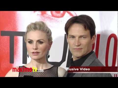 Anna Paquin Baby Bump and Stephen Moyer