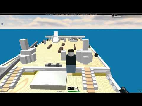Titanic And Britannic Sinking Britannic Sinking Roblox
