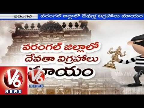 Kakatiya historic temples have no security - Warangal