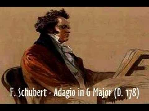 Шуберт Франц - Адажио