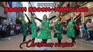 [KPOP IN PUBLIC MEXICO] BBoom BBoom (뿜뿜) | MOMOLAND (모모랜드) DANCE COVER BY TAGGME (Christmas Ver)