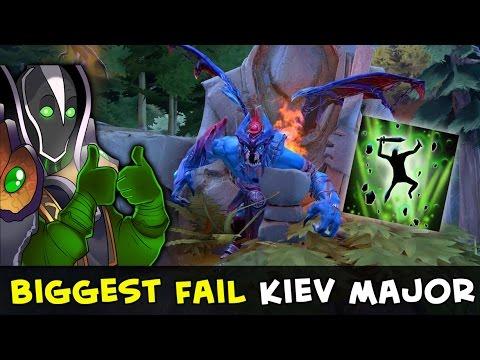 Biggest fail of Kiev Major — Rubick vs cliff Night Stalker