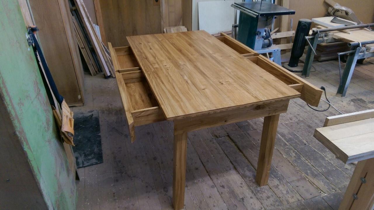Сделать дубовый стол своими руками 72