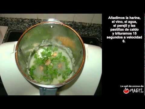 Pescado en salsa verde con Thermomix - La web de cocina de Mabel