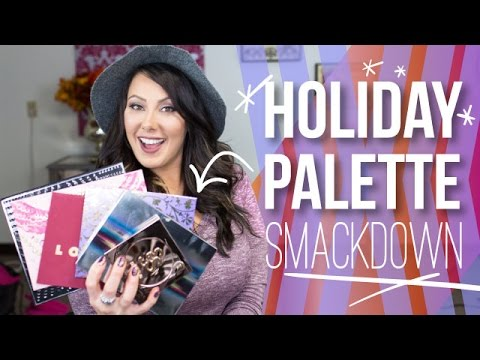 Holiday Makeup Palette Smackdown 2014   Makeup Geek