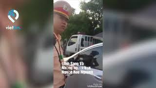 CSGT Hải Dương đền bù 1 triệu đồng vì làm vỡ màn hình điện thoại, cấm dân quay phim
