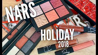 New Nars Holiday 2018 Collection Overview & Demo