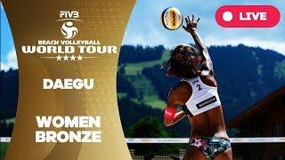 Daegu 1-Star  - 2018 FIVB Beach Volleyball World Tour - Women Bronze Medal Match