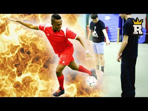 KSI nutmegs Global Freestyle: Rule'm sports