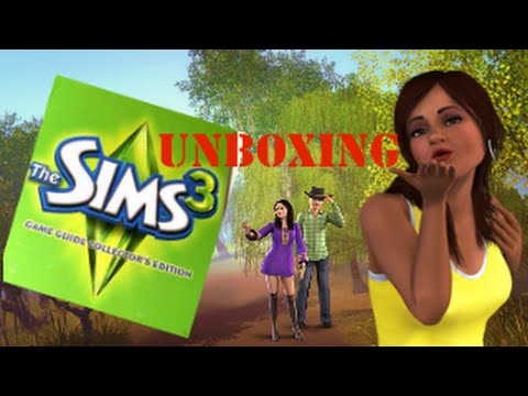 The Sims 3 Game Guide Collector´s Edition Unboxing