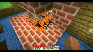 Minecraft rehberi bölüm 12 - redstone meşalesi, pistonlar, trapdoorlar ve mimari önerileri