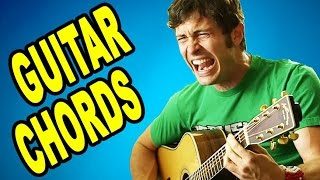 How to Play Guitar Chords (A I can C your D) - Song