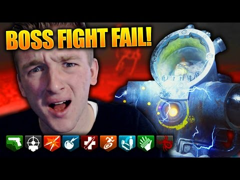 """DER EISENDRACHE"" 2 GUYS 1 PANZER EASTER EGG BOSS FIGHT FAIL ~ Bo3 Zombies Gameplay! (Funny Moment)"