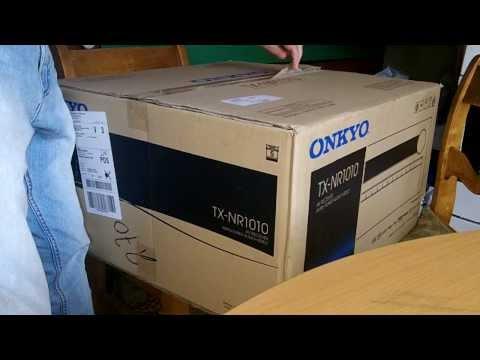 Onkyo TX-NR 1010 Reciver Unboxing.
