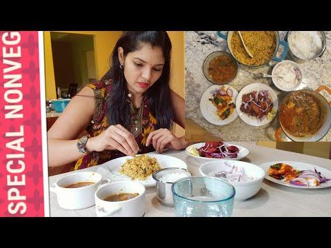 WEEKEND SPECIAL NONVEG MENU | Chicken keema Briyani| Chicken 65 | fish special