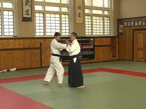 Renshinkai Aikido Techniques Demonstration by Sensei Chida Tsutomu, 05-10-2008. Image 1