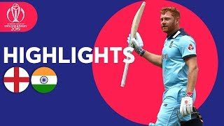 England vs India - Match Highlights | ICC Cricket World Cup 2019