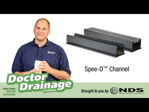 How to improve your drainage system with the NDS SpeeD Channel
