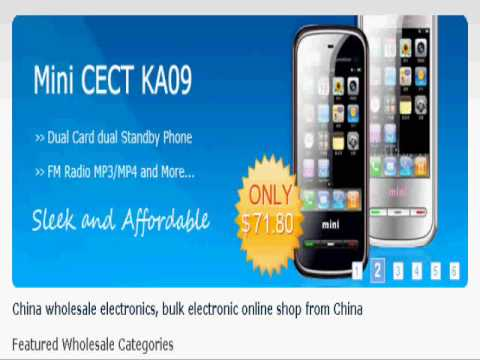 how to buy wholesale electronics for resale