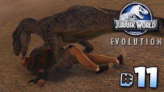 CLEVER GIRL!!! - Jurassic World Evolution Gameplay | Ep11