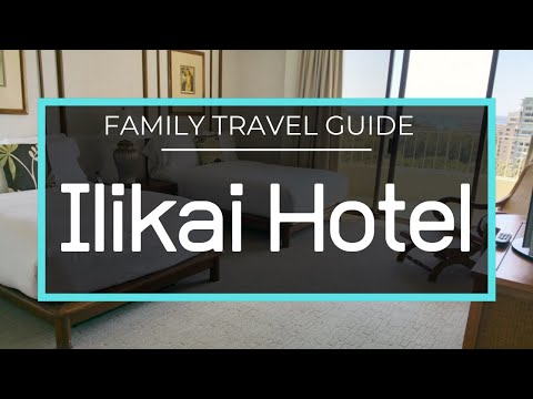 Ilikai Hotel & Luxury Suites - Luxury 2 Bedroom Oceanfront + Kitchen Room Tour