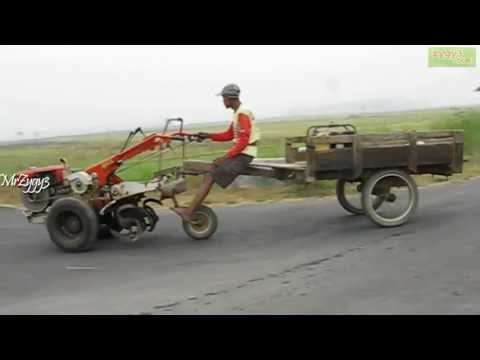 Riding Yanmar Rotary Hand Tiller 2 Wheel Tractor