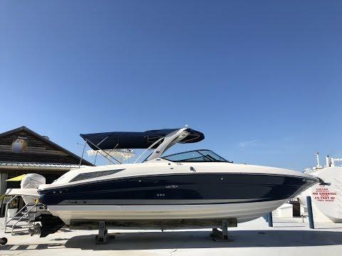 Our Trade: 2013 Sea Ray SLX 300 For Sale at MarineMax Sarasota