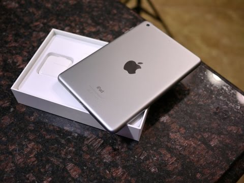 Apple iPad mini 3 unboxing