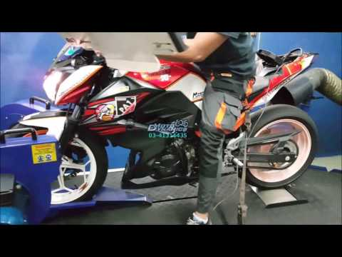 Kawasaki Z250 Fully Modded Hybrid Bazzaz ZFI - Motodynamics Technology Malaysia