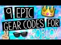 9 Epic Gear Codes for Roblox