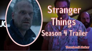 What To watch on Netflix? Stranger Things Season 4  - Teaser Trailer Reaction
