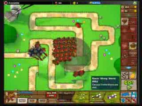 How To Beat BTD5 on Hard With Only Dart Monkeys (Challenge)
