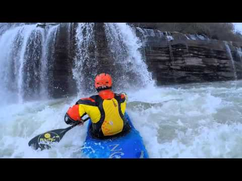 Now and Zen- Winter Whitewater Kayaking at Rock Island
