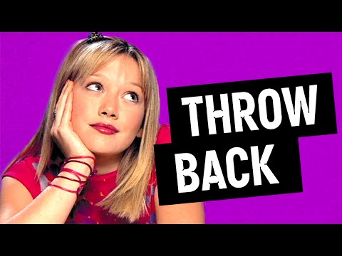 Remember Hilary Duff On Lizzie McGuire?  (Throwback)