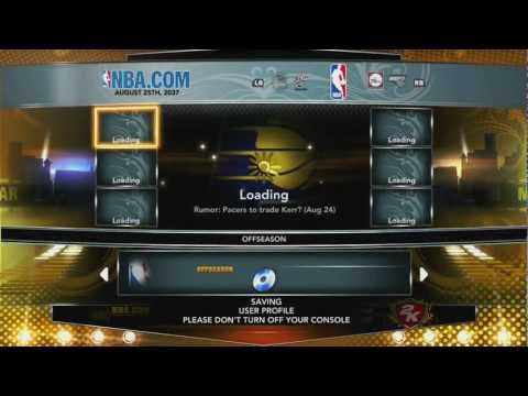 NBA 2K13  - Association Mode Tips - Starting Season 1