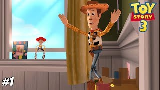 Toy Story 3: The Video Game - PSP Playthrough Gameplay 1080p (PPSSPP) PART 1