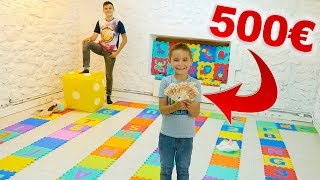 GIANT BOARD GAME CHALLENGE !!! 500€ à gagner ! 😱