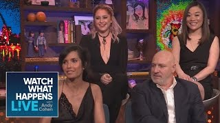 Padma Lakshmi And Tom Colicchio Dish On The Top Chef Finale And Behind The Scenes | WWHL