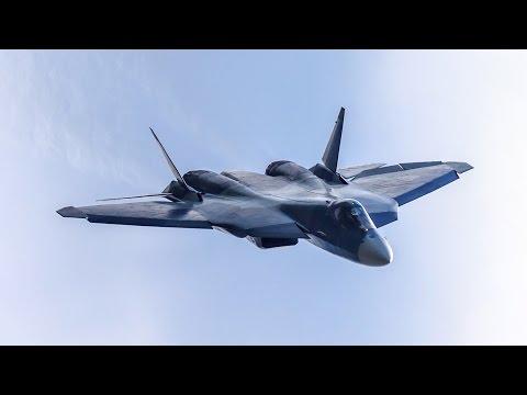 Самолет ПАК ФА Т-50. Samolet pak fa t-50