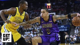 Warriors blown out by Lakers behind bad defense & shooting | Get Up!