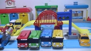 타요 도로놀이 장난감 Tayo The Little Bus Road Play Set Toys