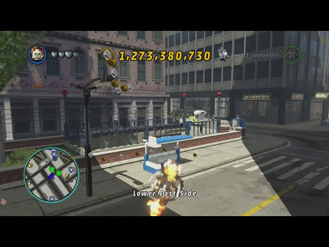LEGO Marvel Superheroes - Ghost Rider's Motorcycle Location and Free Roam Gameplay
