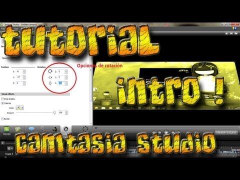 Como Hacer Una Intro Sencilla Con Camtasia Studio 8 Bien Explicado 2012