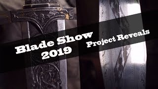 Matt and Ilya Reveal Their Blade Show 2019 Projects - Mosaic Damascus Gladius Etch