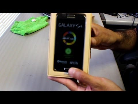 T-Mobile Samsung Galaxy S4 M919 Unboxing Review and First Impressions סיקור ראשוני סמסונג גלקסי