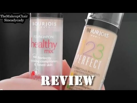 Bourjois Foundation Healthy Mix and 123 Perfect Everything you need to know!
