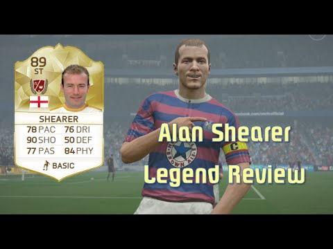 FIFA 16 - Alan Shearer - Legend Review