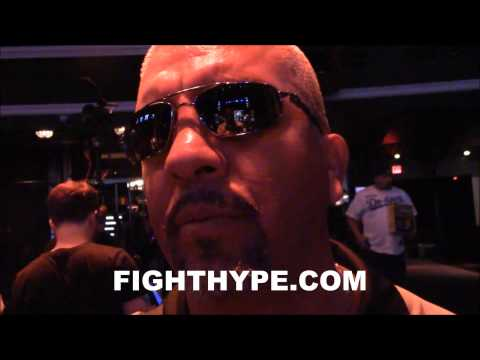 JOEL DIAZ REVEALS FLOYD MAYWEATHER DIDNT REALLY TRAIN FOR FIRST FIGHT WITH JOSE LUIS CASTILLO