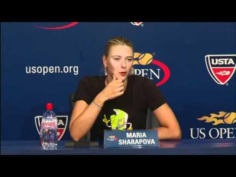 2010 US Open Press Conferences: Maria Sharapova (First Round)